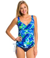 Penbrooke Whirlpool V-Neck Adjustable Side Tankini Top