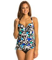 Penbrooke Color Angles Underwire Adjustable Side Tankini Top