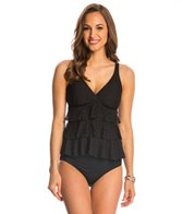 Penbrooke Crochet Triple Tier Tankini Top