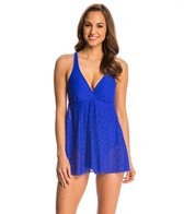 Penbrooke Crochet Soft Cup Fly Away Swimdress