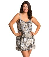 Penbrooke Plus Size Penthouse Sweet Double Strap Swimdress