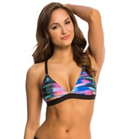 Next Turn Up the Tempo Barre Racerback Sports Bra Bikini Top