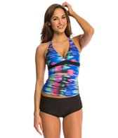 Next Turn Up the Tempo Superwoman D-Cup Tankini Top