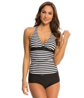 Next Barre to Beach Superwoman D-Cup Tankini Top