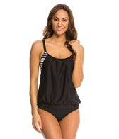 Next Barre to Beach Double Up Tankini Top