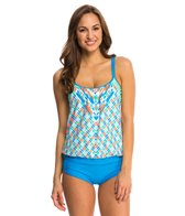 Next Go with the Flow Double Up Tankini Top