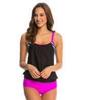 Next Power Thru it Double Up D-Cup Tankini Top