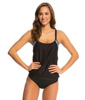 Next Weekend Warrior Double Up D-Cup Tankini Top