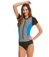 Next Barre to Beach Malibu S/S One Piece Swimsuit