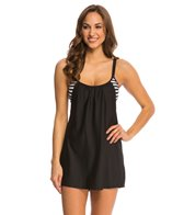 Next Barre to Beach Double Cover Tank Dress