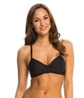 Next Good Karma Solid In Training 2 Racerback Sports Bra Bikini Top