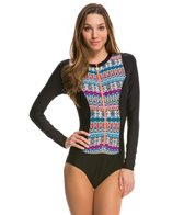 Next Find Your Chi L/S Malibu One Piece Swimsuit
