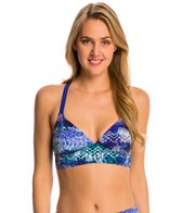 TYR Active Emerald Lake Cascade Cross Bralette Top