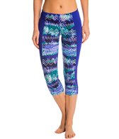 TYR Active Emerald Lake Flex Splice Capri Legging