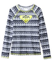 Roxy Girls' Gypsy Geo Long Sleeve Rashguard Top (7yrs-16yrs)