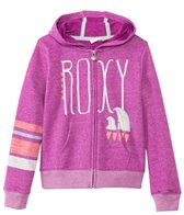 Roxy Girls' Classic Zip Up Surf Hoodie Sweater (7yrs-16yrs)