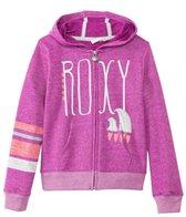 Roxy Girls' Classic Zip Up Surf Hoodie Sweater (7yrs-16yrs)