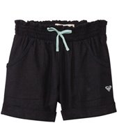 Roxy Girls' Beach Comber Linen Shorts (6mos-24mos)