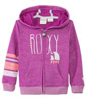 Roxy Girls' Classic Zip Up Surf Hoodie Sweater (6mos-24mos)