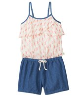 Roxy Girls' Rip Current Ruffle Romper (7yrs-16yrs)
