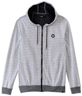 Hurley Men's Dri-Fit League Zip Fleece Hooded Jacket