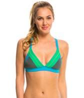 Prana Women's Colorblock Atla Sports Bra Bikini Top