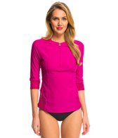 Prana Women's Brigitte 3/4 Sleeve Rash Guard