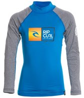 Rip Curl Boys' Ripwatu Long Sleeve Rash Guard