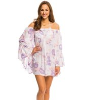 Indah Need Want Love Kamami Printed Angel Wing Cover Up Tunic