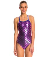 The Finals Funnies Mermaid Foil Wing Back One Piece Swimsuit