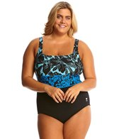 TYR Narciso Aqua Controlfit Plus Size One Piece Swimsuit