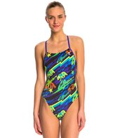 TYR Durafast Crosscutfit Tieback One Piece Swimsuit