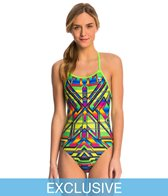 TYR Durafast Crosscutfit Sarape One Piece Swimsuit