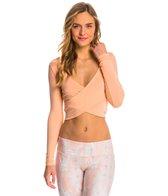 Alo Amelia Long Sleeve Yoga Crop Top