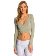 Alo Amelia Long Sleeve Yoga Crop Top