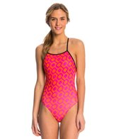 Speedo Rio Brights Printed One Back One Piece Swimsuit