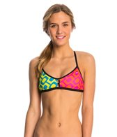 Speedo Rio Brights Printed Fixed Back Top