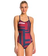 Arena Women's Electron Smooth Back One Piece Swimsuit