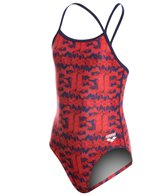 Arena Girl's Network Light Drop Back One Piece Swimsuit