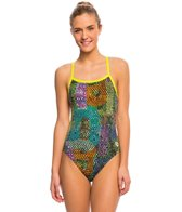 Arena Women's Samba Challenge Back One Piece Swimsuit