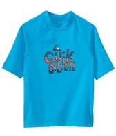 Quiksilver Kid's Free Play Short Sleeve Rash Guard