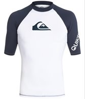 Quiksilver Men's All Time Short Sleeve Rashguard