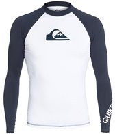 Quiksilver Men's All Time Long Sleeve Rashguard