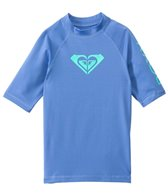 Roxy Girl's Whole Hearted Short Sleeve Rash Guard