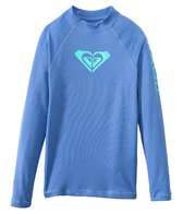 Roxy Girl's Whole Hearted Long Sleeve Rash Guard
