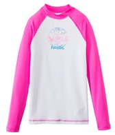 Roxy Girl's Aloha Roxy Long Sleeve Rash Guard