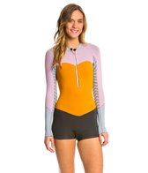 Roxy Women's 2mm XY Front Zip Long Sleeve Springsuit Wetsuit