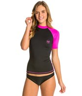 Roxy Women's Sea Bounds Short Sleeve Rashguard