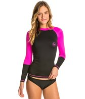 Roxy Women's Sea Bounds Long Sleeve Rashguard