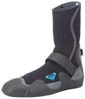 Roxy Women's 3mm Syncro Round Toe Wetsuit Neoprene Booties